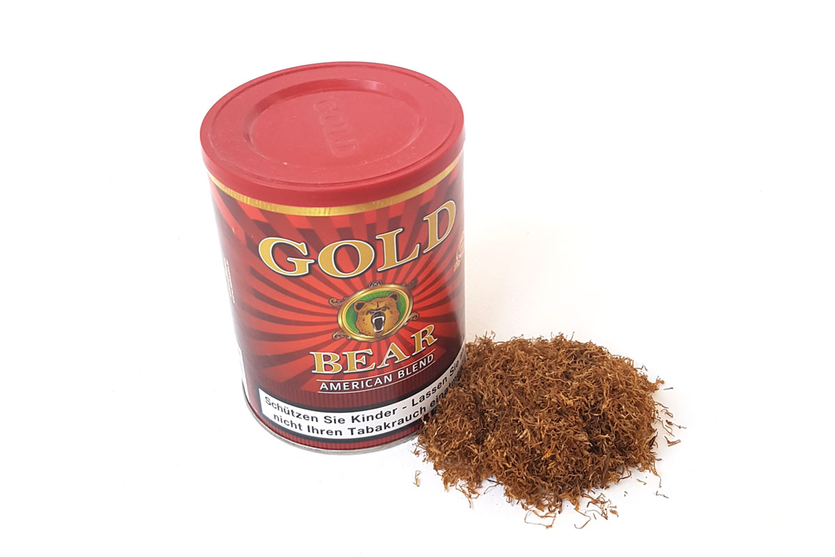 Gold Bear American blend box